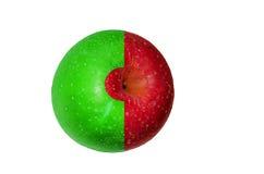 Apple coloré Images libres de droits