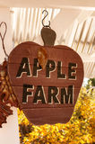 Apple coltiva il segno Fotografie Stock