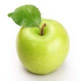 Apple com fatia Foto de Stock Royalty Free