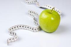 Apple com medidor Foto de Stock