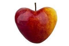 Apple come cuore Immagini Stock Libere da Diritti