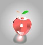 Apple como vidrio Imagen de archivo