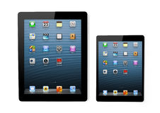 Apple company has showed a new iPad mini Stock Photos