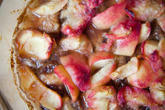 Apple compote, stewed fruit Stock Photography