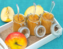 Apple compote 3 Stock Photos