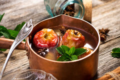 Apple Compote Stock Images