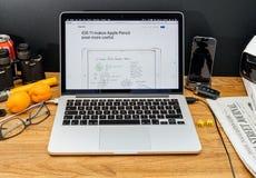 Apple Computer en los últimos avisos de WWDC de Fotos de archivo
