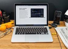 Apple Computer en los últimos avisos de WWDC de Imagen de archivo