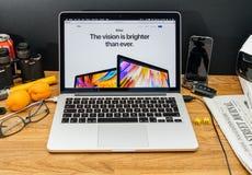 Apple Computer en los últimos avisos de WWDC de iMac Fotografía de archivo libre de regalías