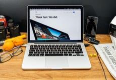 Apple Computer en los últimos avisos de WWDC de iMac Imagen de archivo