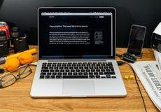 Apple Computer en los últimos avisos de WWDC de iMac favorable Radeon Imagen de archivo