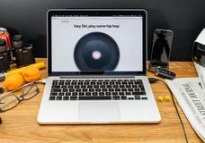 Apple Computer en los últimos avisos de WWDC del homepod, hiphop, Fotografía de archivo