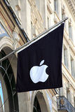 Apple Computer flag Stock Image