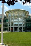 Apple Computer Inc HQ. Technology company head office campus - Apple Inc Stock Image