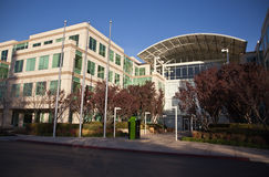 Apple Computer Inc HQ Royalty Free Stock Photo