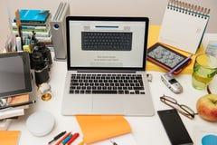 Apple-Computer neues iPad Pro, iPhone 6s, 6s plus und Apple Fernsehen Lizenzfreie Stockbilder
