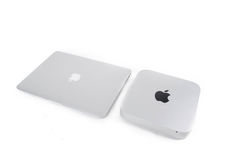 Apple computers Royalty Free Stock Photo