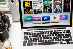 Apple Computers new iPad Pro, iPhone 6s, 6s Plus and Apple TV Stock Photos