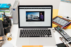 Apple Computers new iPad Pro, iPhone 6s, 6s Plus and Apple TV Royalty Free Stock Images