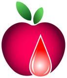 Apple con gota libre illustration