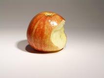 Apple con il morso Fotografia Stock