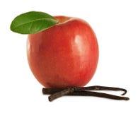 Apple con vainilla Foto de archivo libre de regalías