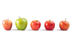 Apple concept Royalty Free Stock Photos