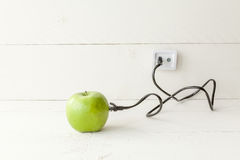Apple connected Stock Photo