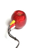 Apple connection Royalty Free Stock Images