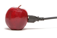 Apple connection Stock Images