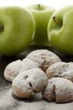 Apple cookie Stock Photo