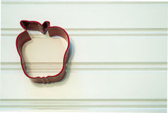 Apple Cookie Cutter Stock Photo