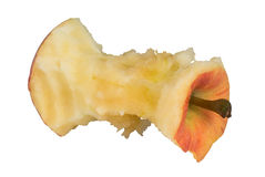 Apple core Stock Photos