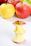 Apple Core Royalty Free Stock Images