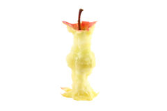 Apple core Royalty Free Stock Image