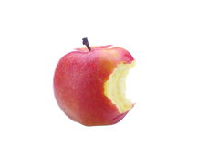 Apple core Royalty Free Stock Photo