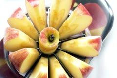 Apple cortado Imagens de Stock Royalty Free