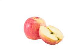 Apple, corte ao meio Fotos de Stock Royalty Free