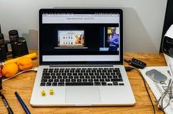 Apple Craig Federighi vede in anteprima l'alta sierra del MaOS al sa 2017 di WWDC Fotografia Stock