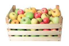 Apple crate Stock Images