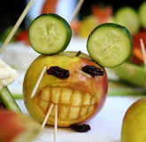 Apple creature Royalty Free Stock Photography