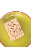 Apple Crisp Bar Royalty Free Stock Image