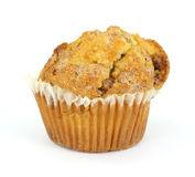 Apple crisp cinnamon muffin Royalty Free Stock Photography