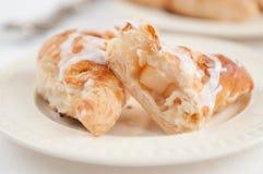 Apple Croissant Royalty Free Stock Photos