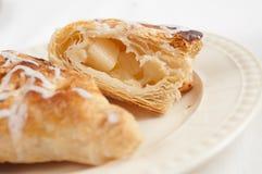 Apple Croissant Stock Photo