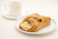 Apple croissant pastry Stock Photography