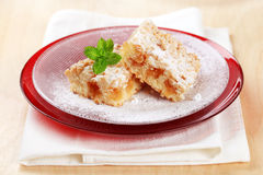 Apple crumb cake Royalty Free Stock Photography