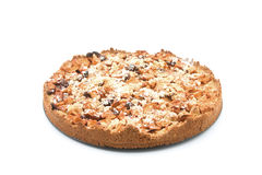Apple crumb pie Royalty Free Stock Photo