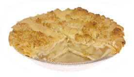 Apple Crumb Pie Royalty Free Stock Photos