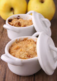 Apple crumble Royalty Free Stock Photos